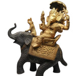 Ganesh Bronze Statue Antique
