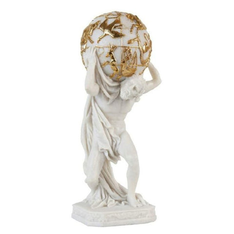 Statue Homme Globe
