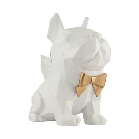 Statue Bouledogue<br> Pop Art Chic