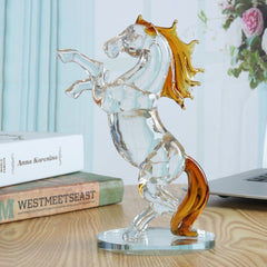 Sculpture Cheval Verre