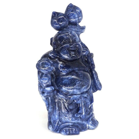 photo statue chinoise bleue