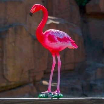 Sculpture Flamant Rose Grande Taille