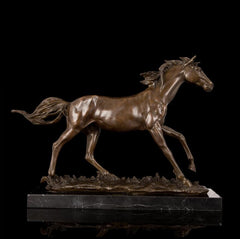 Sculpture Cheval en Bronze