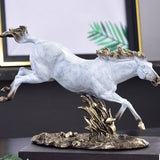 Sculpture Cheval Saut