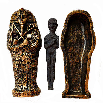 photo petite statue egyptienne