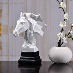 Buste de Cheval Sculpture Moderne