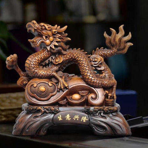 photo statue dragon japonais