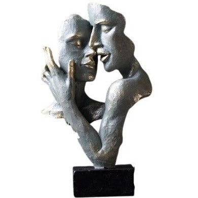 Statue Couple Moderne