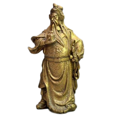 statue chinoise guerrier