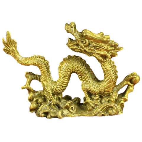 statue dragon chinois