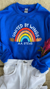 United By Wings Crewneck Sweatshirt