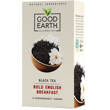 Load image into Gallery viewer, Good Earth Bold English Breakfast Tea Bags Front of Package