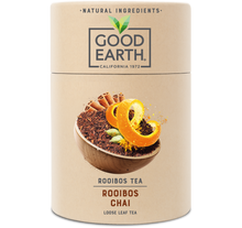 Load image into Gallery viewer, Good Earth Rooibos Chai Loose Leaf Tea Front of Package