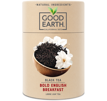 Load image into Gallery viewer, Good Earth Bold English Breakfast Loose Leaf Tea Front of Package