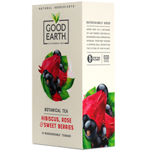 Load image into Gallery viewer, Good Earth Hibiscus, Rose & Sweet Berries Tea Bags Right Side Package View