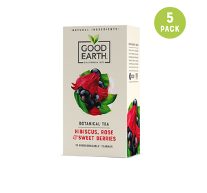 Hibiscus, Rose & Sweet Berries Teabags