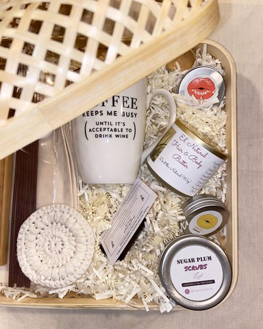 The Gift of Self Care Basket