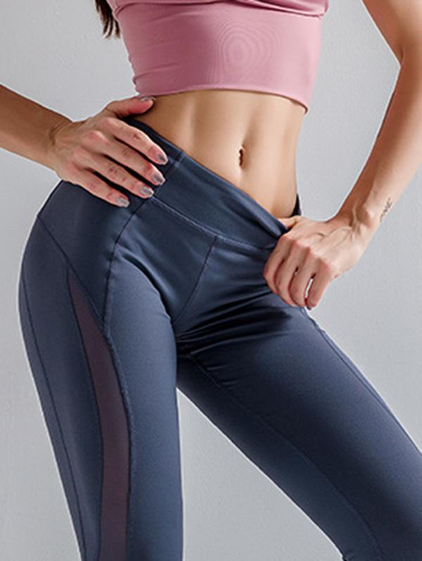 Sexy Solid Breathable Quick Dry Yoga Leggings