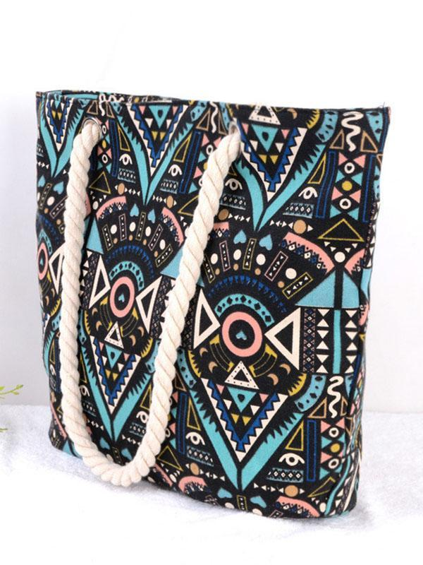 Fashion Bohemia  Floral Decorated Bag