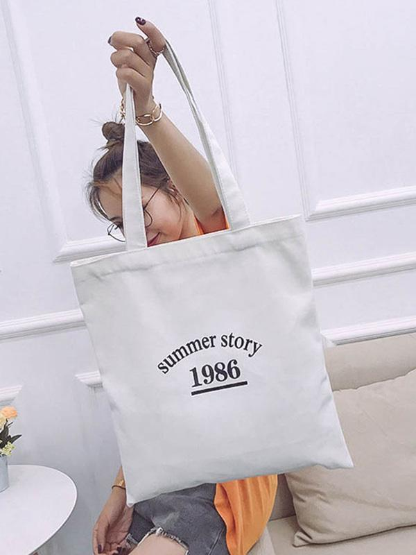 Leisure Canvas Single-shoulder Bag