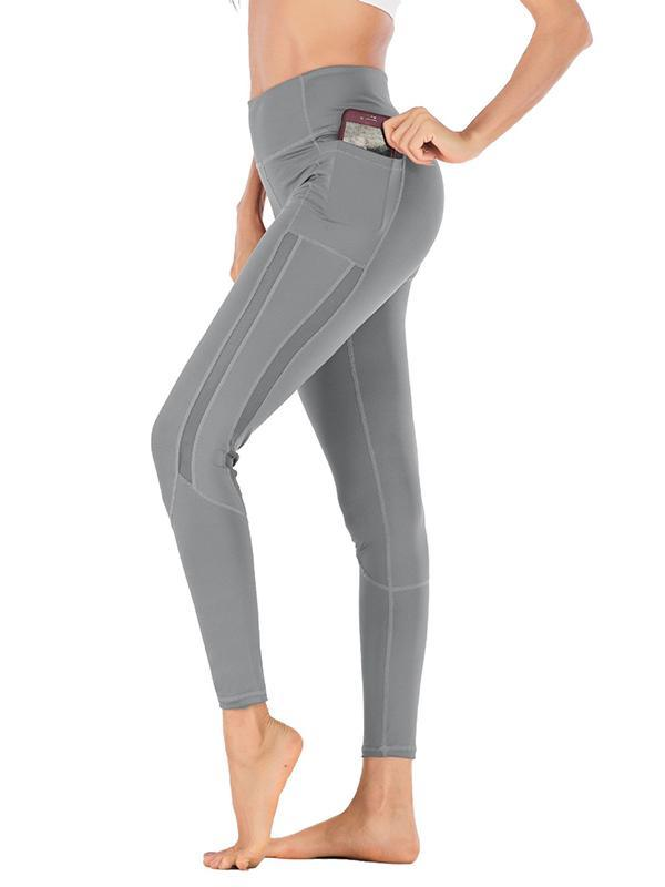 Side Pocket High Waist Leggings
