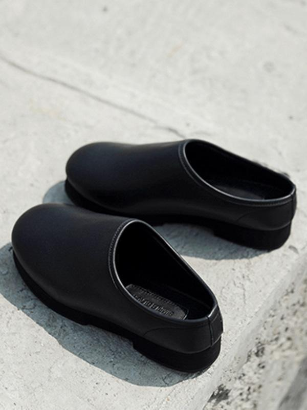 Retro Ball Peen Half Slipper Shoes