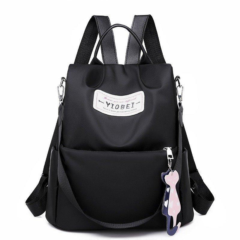Women Waterproof Oxford Backpack Version Anti-theft Travel Bag