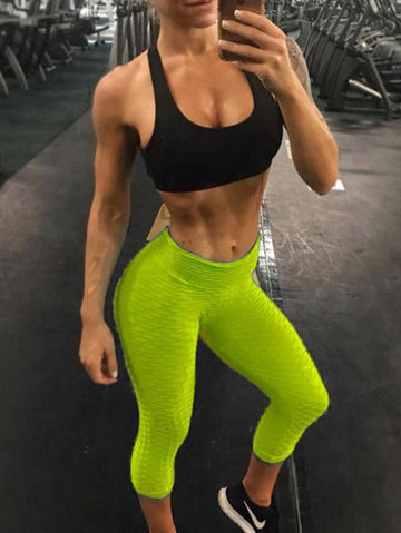 Seven-Quarter Wrap Sports Leggings