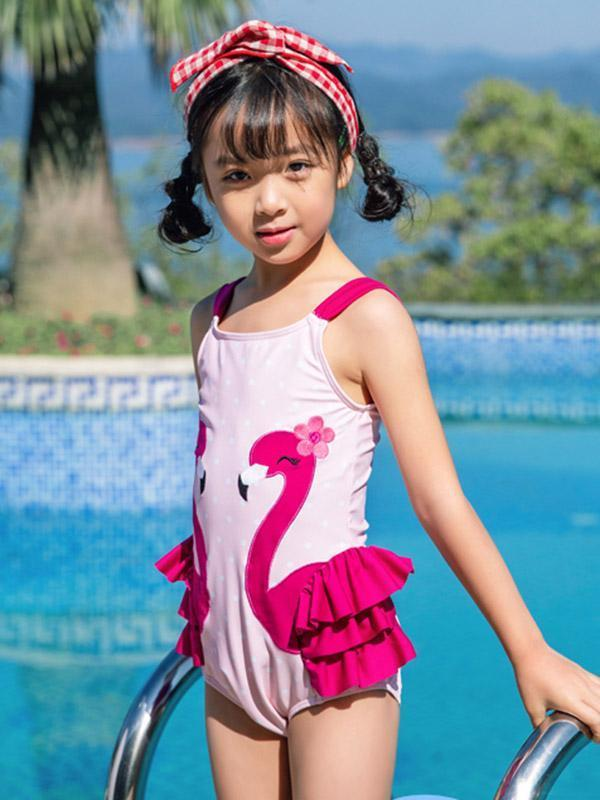 AONIHUA One Piece Lovely Princess Swimwear