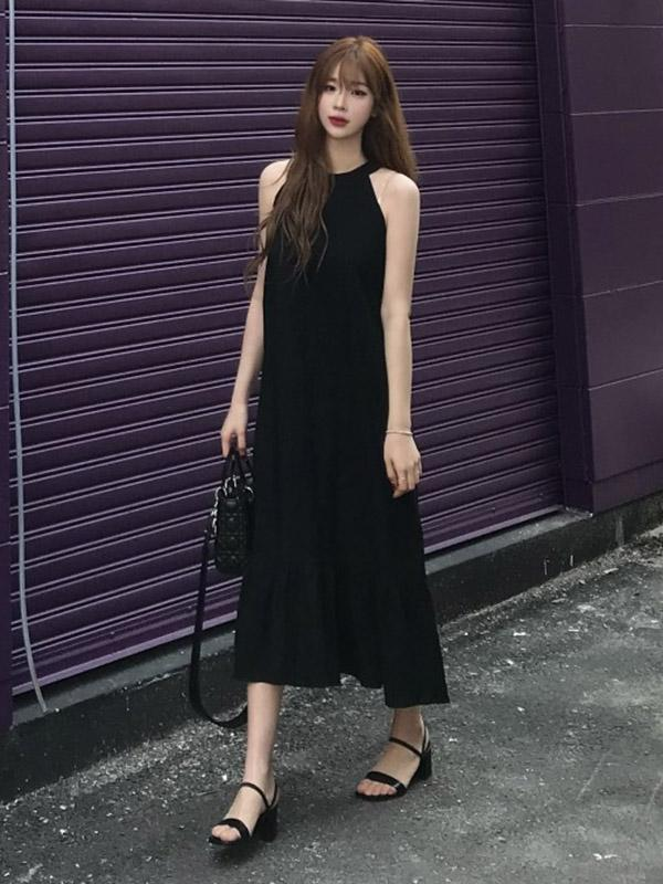 Sexy Cotton Long Dress