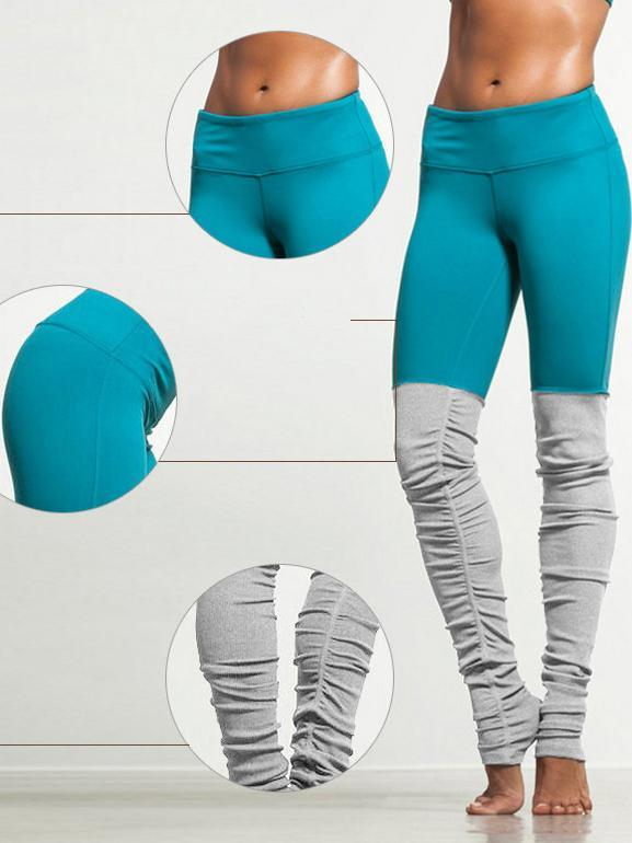 Two Tone Yoga Gym Leggings