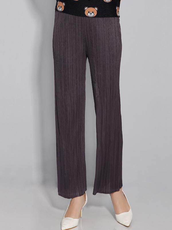 Urban Tune Simple Tunicshang Pleated Trousers