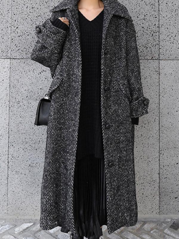 Super Loose Chic Long Jacket