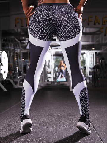 Tight Printed Yoga&Gym Leggings