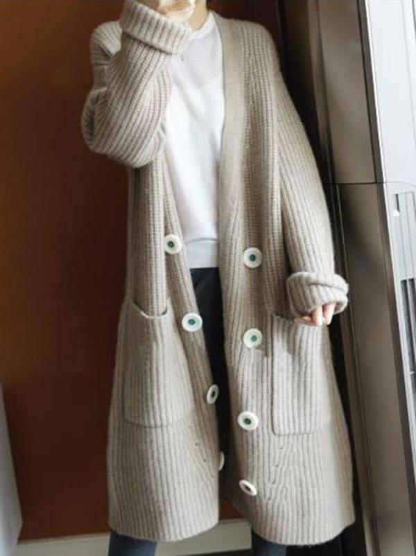 SUPER LOOSE KNITTING OUTWEAR