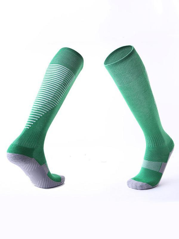 Striped Sports Knee High Socks