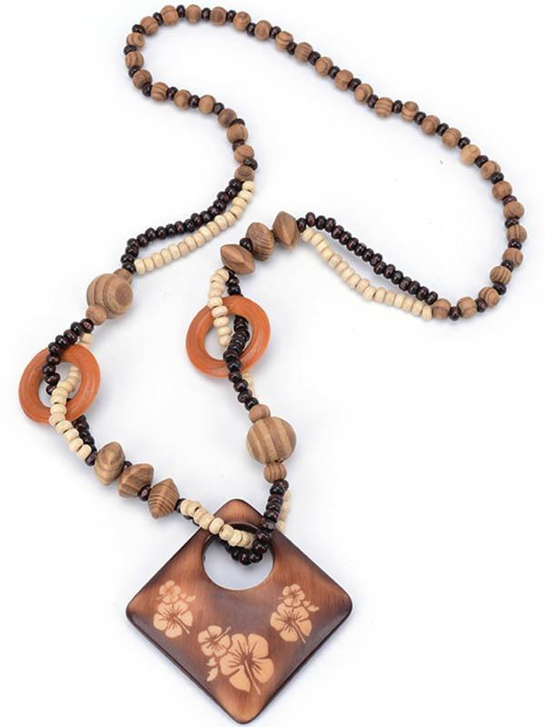 Wood Plum Blossoms Pendant Accessories