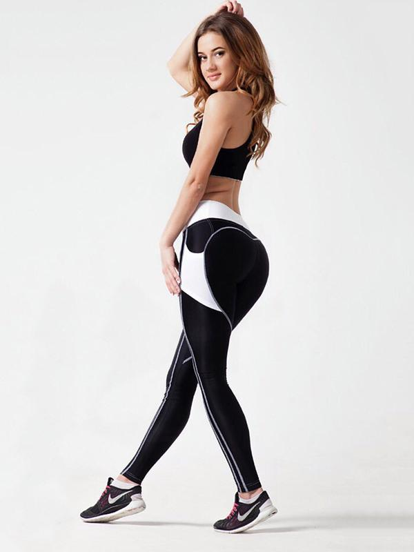 Sexy Stitching Slim Yoga Leggings