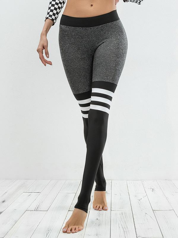 Tone Elastic Gym Leggings