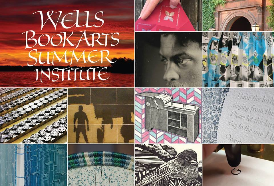 If you love Ink + Metal + Paper, check out the Wells Book Art Summer Institute!