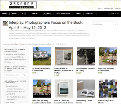 Now Showing at 23 Sandy Gallery: Interplay, Photographers Focus on the Book