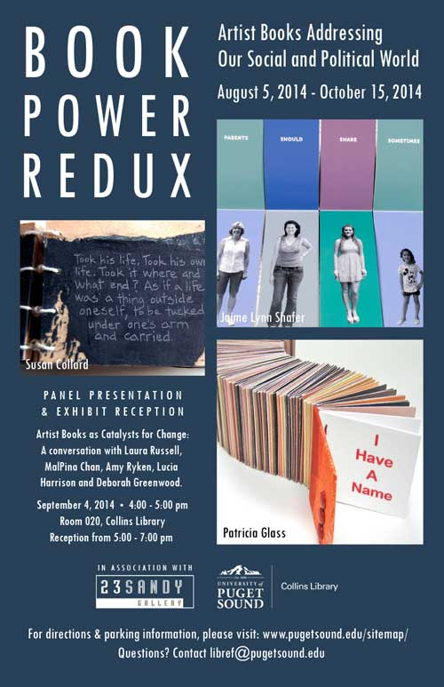Book Power Redux Opens in Tacoma