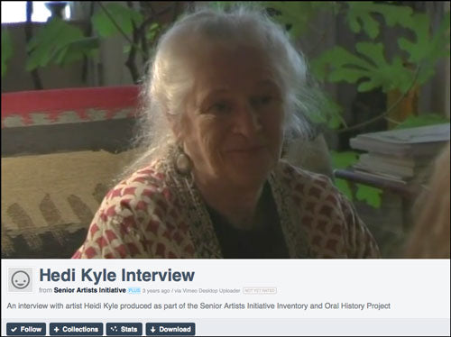 Hedi Kyle Video Interview Inspiration & The Pivoting Panel Book
