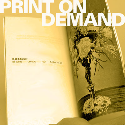 Print on Demand Artist Books