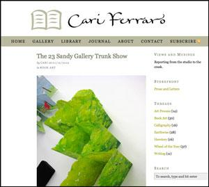 The 23 Sandy Gallery Trunk Show : Cari Ferraro