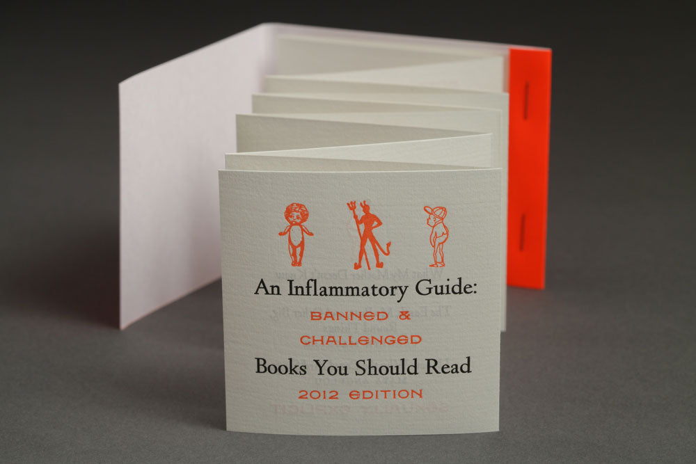 Gifty Picks - Day 3 - Inflammatory Banned Books by Jessica Spring