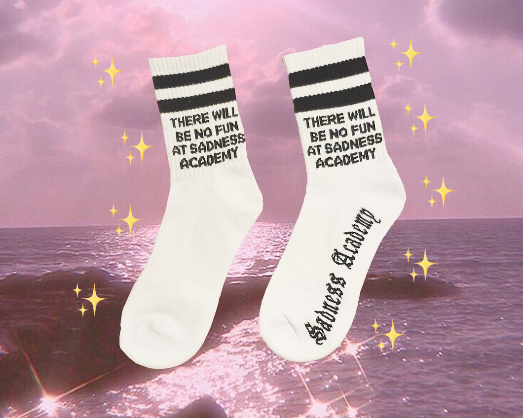 THERE WILL BE NO FUN SOCKS