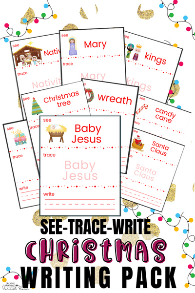 Christmas Writing for Young Learners Binder
