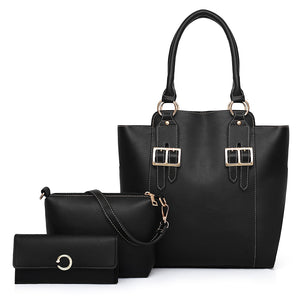 Women Handbag Shoulder Bag Purse Set