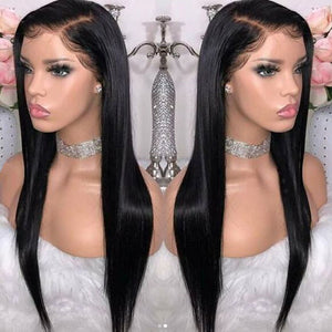 Sapphire Peruvian 360 Lace Front Wig Straight Wig 360 Lace Frontal Human Hair Wigs For Black Women Lace Front Human Hair Wig